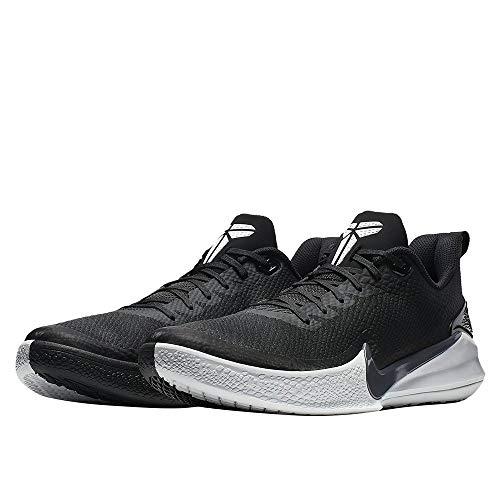 Nike Men's Kobe Mamba Rage Basketball Shoe (9 M US, Black/Anthracite/White)