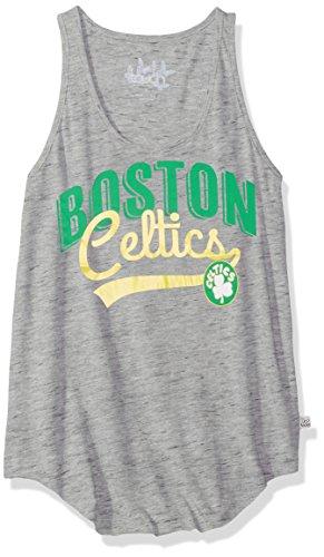 - Touch by Alyssa Milano NBA Boston Celtics Rookie Tank, Medium, Heather Grey