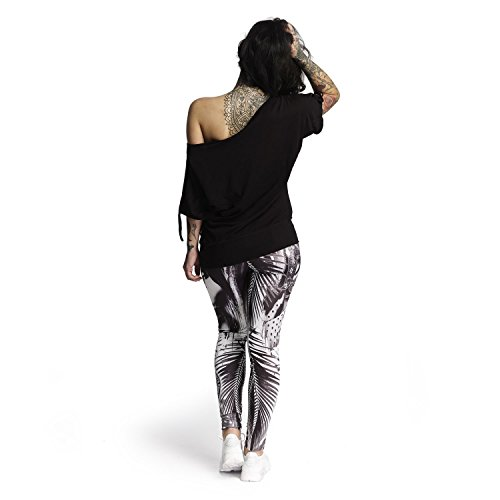 Yakuza Mujeres Ropa superior / Camiseta Take Any Shape negro