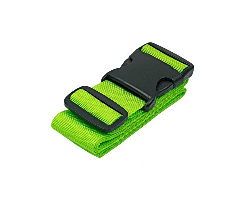 Green LTDD Luggage Tied Rope Strap Suitcase Belts Travel Packing Belt