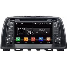 "Glyqxa 4GB RAM Octa Core 8"" Android 8.0 Car Radio dvd Player for Mazda 6 2012 2013 2014 With GPS Bluetooth WIFI USB DVR OBD Mirror-link"