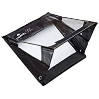 Paperdry Half Letter Landscape Waterproof Clipboard - Premium PVC Material [18-Month Warranty]
