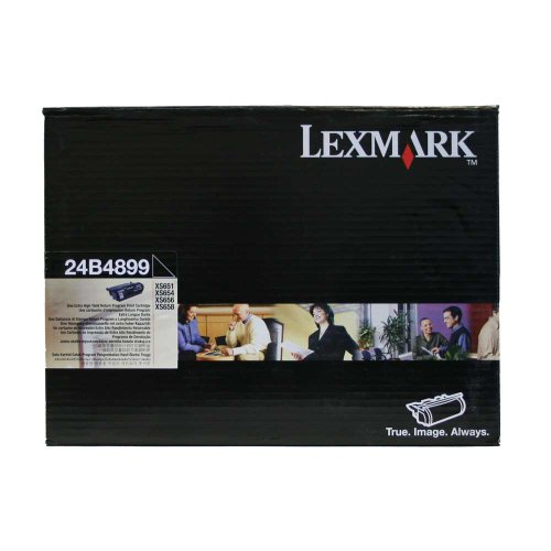 Lexmark 24B4899 Extra High Yield Toner Cartridge - Black