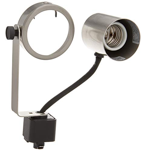 PLC Lighting TR122 SN Gimbal Collection Track Lighting 1 Light Fixture, Satin Nickel ()