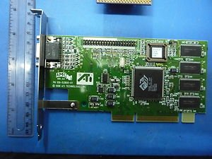 ATI TECHNOLOGIES - 3D RAGE II AGP VIDEO CARD
