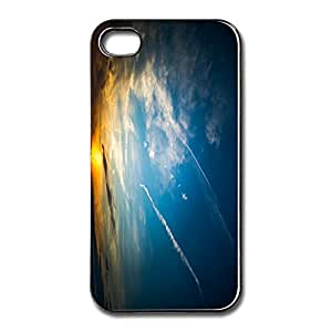 New Beautiful Sunset Case Shell For Apple IPhone 4 4s Custom Your Own Cool IPhone 4s Cover