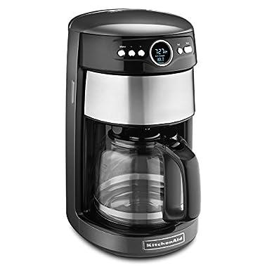 KitchenAid KCM1402QG 14-Cup Glass Carafe Coffee Maker - Liquid Graphite