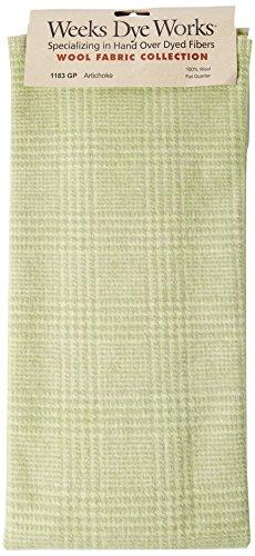Weeks Dye Works Wool Fat Quarter Glen Plaid Fabric, 16