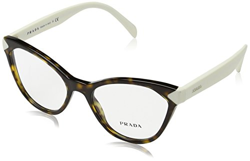 Prada Women's 0PR 02TV Tortoise One Size -