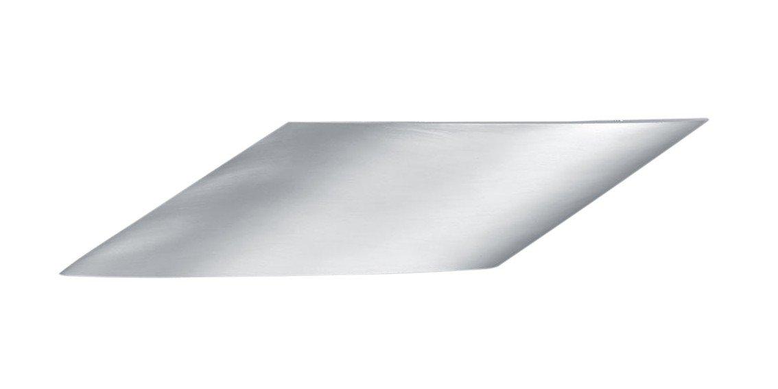 Trio Leuchten Wandleuchte, Metall, Integriert, 3.8 W, Aluminium gebürstet, 5,3 x 33,7 x 6,7 cm