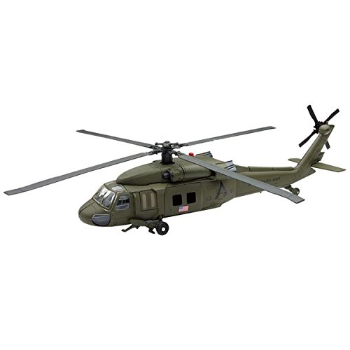 Sky Pilot UH-60 Black Hawk Diecast Helicopter Replica 1:60 Scale