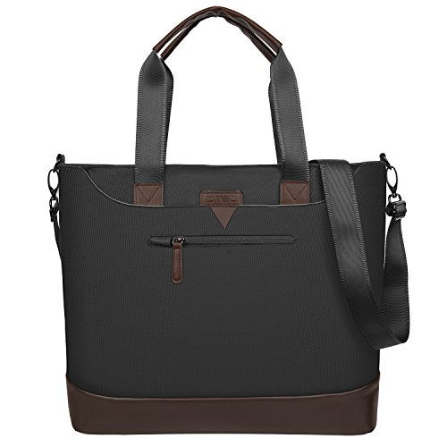 Ladies Laptop Tote Bag,DTBG Stylish Large Womens Business Laptop Shoulder Bag Work Tote Purse Office Messenger Briefcase Travel Shopping Handbag with Strap for Up to 15.6 Inch Laptop ()
