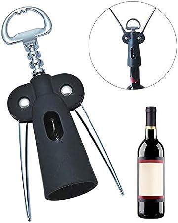 Wybfztt-188 Bombas abrelatas de vino abrelatas de plástico herramientas de corte de corcho manija camarero con los brazos de la aleación de zinc de la aleación del sacacorchos de la herramienta del ab