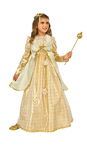 [Rubie's Costume Kids Golden Princess Costume, Large] (Halloween Princess Costumes For Kids)