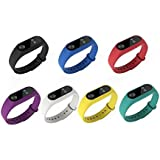 For Xiaomi Mi Band 2 Bands, Dingtool Colorful Replacement Strap Wristband Bracelet Accessories for Xiaomi Mi Band 2 Bracelet
