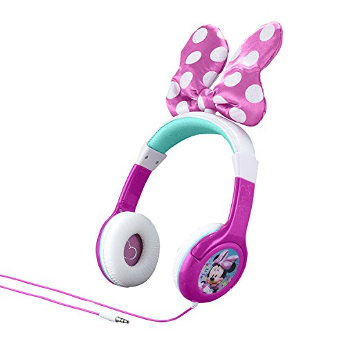 Minnie Mouse  Bow -Tastic Disney Junior Kid Friendly Volume Reduced Youth Stereo (Static Wall Graphic)
