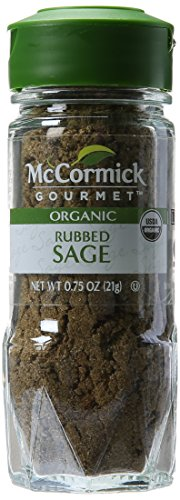McCormick 100% Organic Rubbed Sage, 0.75 Ounce - Fresh Sage