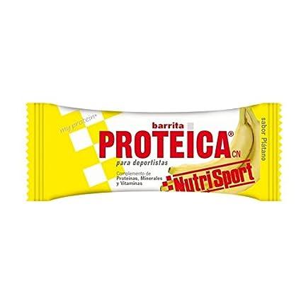 Nutrisport Barrita Proteica Plátano - 1104 gr