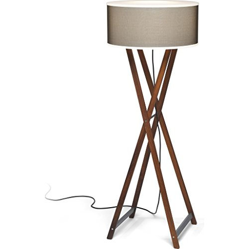 Marset Cala Outdoor Floor Lamp | Iroko Wood