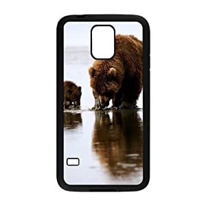 Cute Bear Brand New Cover Case with Hard Shell Protection for SamSung Galaxy S5 I9600 Case lxa#445310