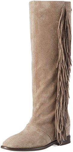 Stiefel beige870 Alta Beige Sin Mujer Laurèl Caña Botas Forro De zdRRvw