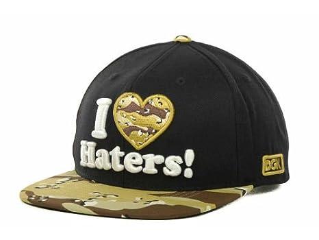 5233aebe7df Amazon.com   Dgk Dirty Ghetto Kids I Love Haters Black Tan-Brown ...
