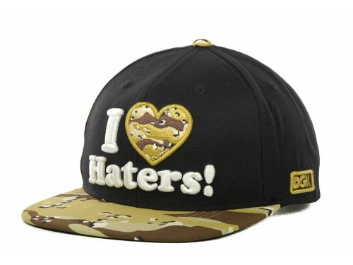 Dgk Dirty Ghetto Kids I Love Haters Black/Tan-Brown, used for sale  Delivered anywhere in USA