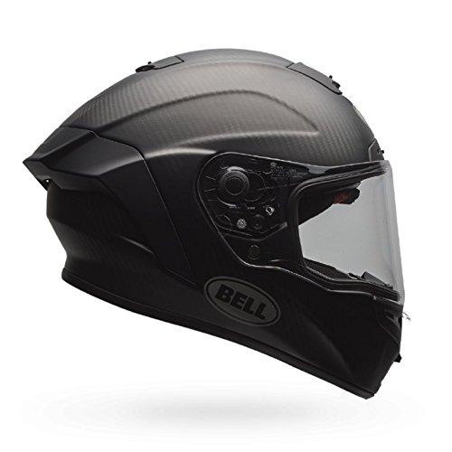 Bell Unisex-Adult Motorcycle Helmet (Star MIPS) (Solid Matte Black, Large)
