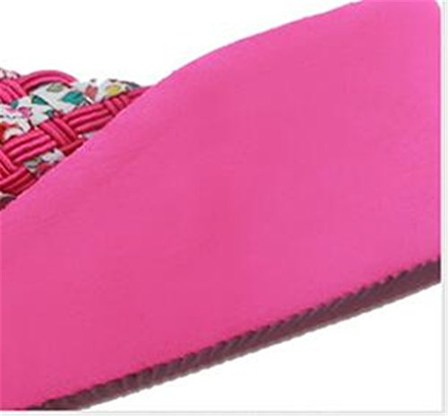 Boowhol - Sandalias de Material Sintético para mujer plateado plata