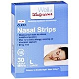 Walgreens Nasal Strips, Clear, Large, 30...
