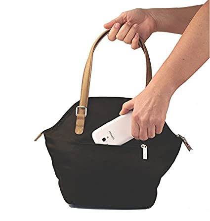 Valira Fusion Lunch Bag, Bolsa Porta Alimentos, Negro: Amazon.es ...