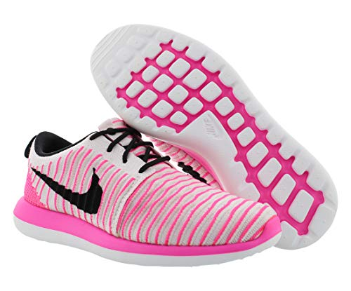Rosa Scarpe Nike Two Roshe pink Flyknit Pink gs Corsa Da Donna white Black pearl Blast nWxgqnB8r