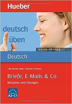 Book Deutsch Uben - Taschentrainer: Taschentrainer - Briefe, E-Mails & Co.