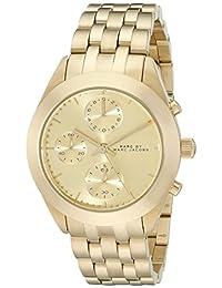 Marc by Marc Jacobs Women's Peeker MBM3393 Gold Stainless-Steel Quartz Watch