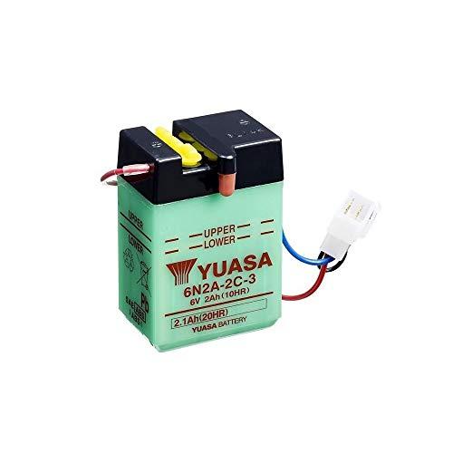 YUASA batterij 6N2A-2C-3 open zonder zuur