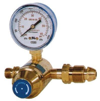Spud Inlet - Goss POL Inlet Spud and Nut Propane Regulators, Propane, 5 - 60 psi, 1/4 in (NPT)