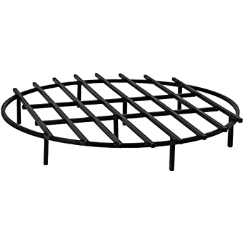 fire pit grate lowes grill square heritage products classic round inch diameter made cover