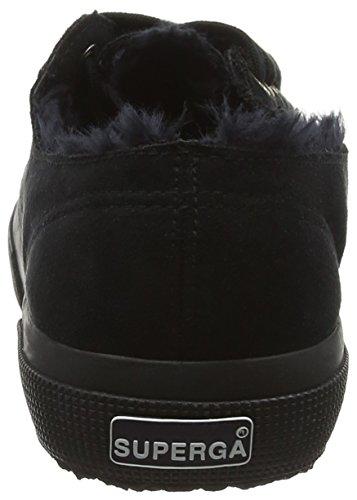 Unisex Full 2750 Negro Black Syntshearlingm A09 Zapatillas adulto Superga 0tz4w4