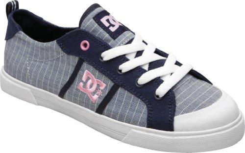 DC Shoes Fiona Womens Shoe D0302822 Damen Sneaker Blau (DC Navy DN1)
