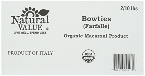 organic bow tie pasta - 2