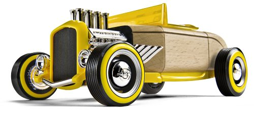 Automoblox: HR-2 hotrod roadster (Yellow)