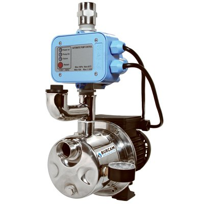 BURCAM 506532SS 3/4 HP Dual Application Tankless Shallow Well Jet Pump and Booster System
