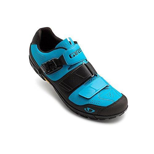 Giro Terraduro Mi Chaussures & E-tip Gant Bundle Bleu Bijou / Noir