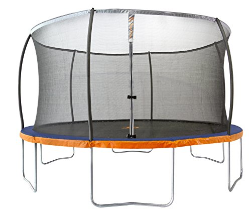 Jump Power Trampoline & Safety Net Enclosure System, Blue