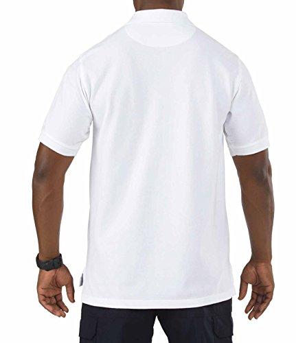 5.11 Professional Polo Kurzarm Weiß