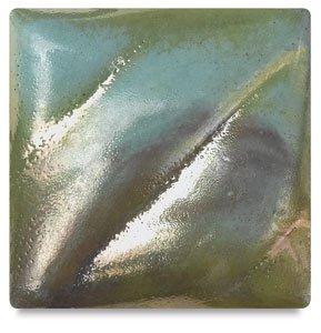 Raku Glaze (Amaco Raku Glaze - Pint - R-15 Caribbean Blue)