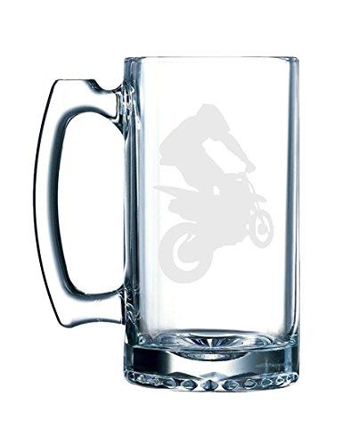 Extreme Sports #2 - Dirt Bike Motocross Offroad Racing - 26.5 Ounce Glass Mug ()
