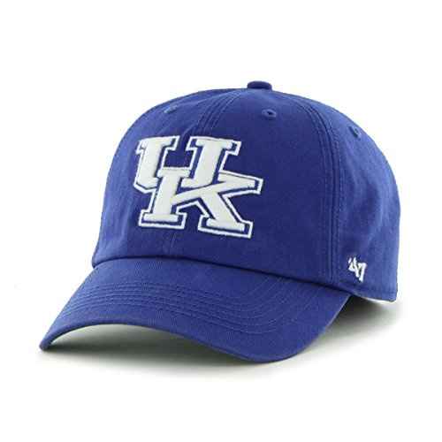 '47 NCAA Kentucky Wildcats Franchise Fitted Hat, Royal, Large