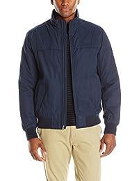 Dockers Men's Micro Twill Golf Bomber Jacket