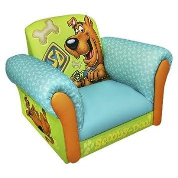 Amazon.com: Magical Harmony Kids Deluxe Rocker Chair - Scooby Doo ...